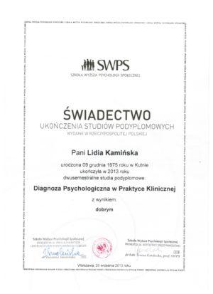 10.Psychologia - Psychoterapia SWPS