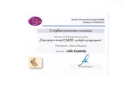 21.EMDR Dysocjacja - Dr.D.Mosquera